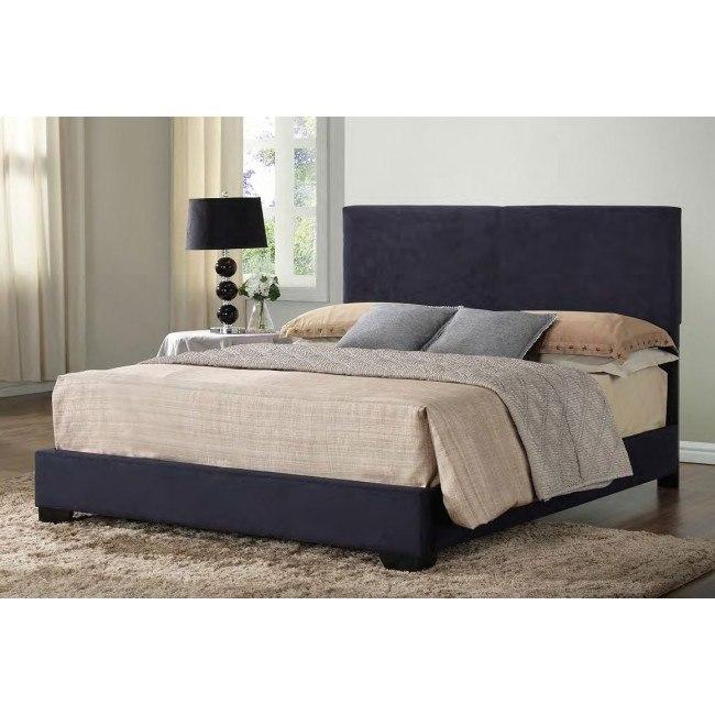 G1801 Upholstered Bed (Black)