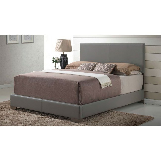 G1805 Upholstered Bed (Gray)