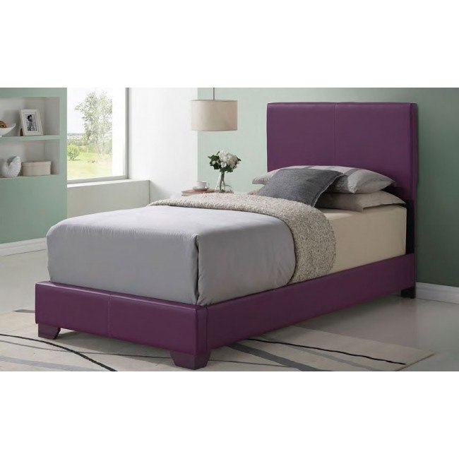 G1806 Youth Upholstered Bed (Purple)