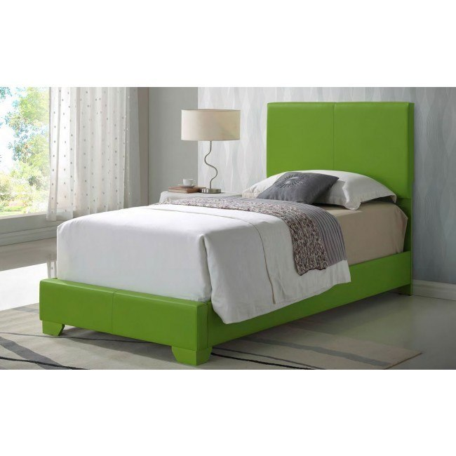 G1807 Youth Upholstered Bed (Green)