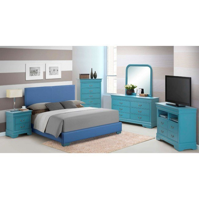 G1808 Upholstered Bedroom Set