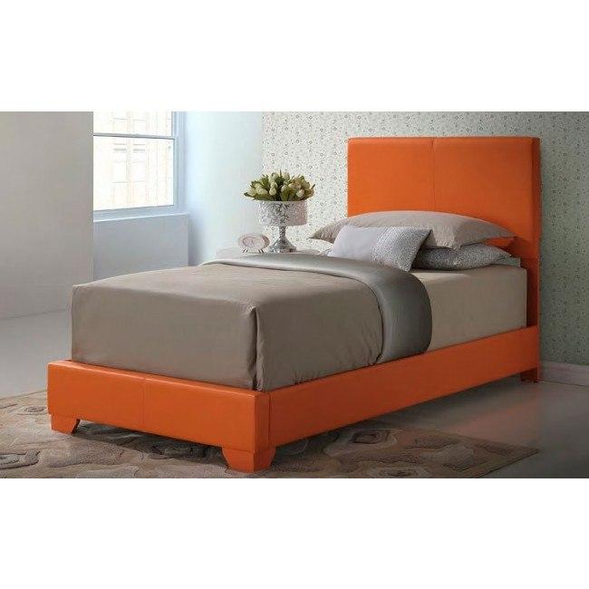 G1809 Youth Upholstered Bed (Orange)