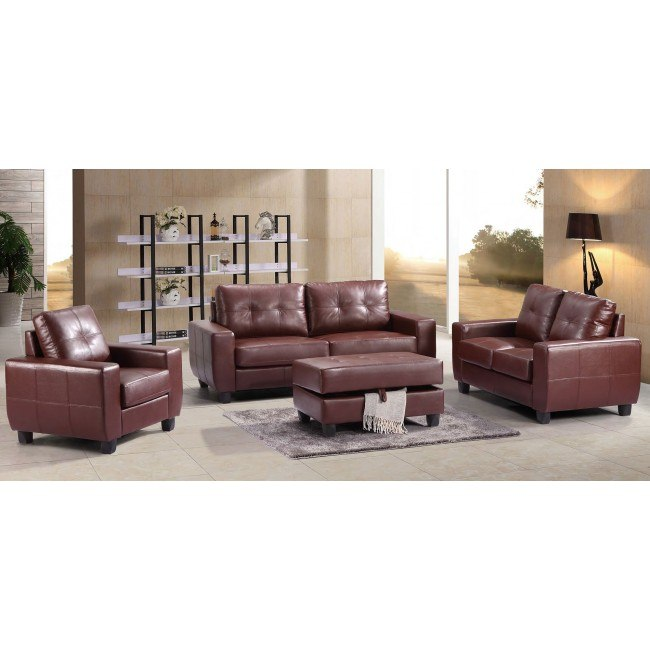 G200 Living Room Set (Brown)