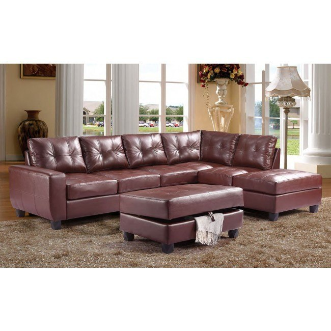 G200 Reversible Sectional Set (Brown)