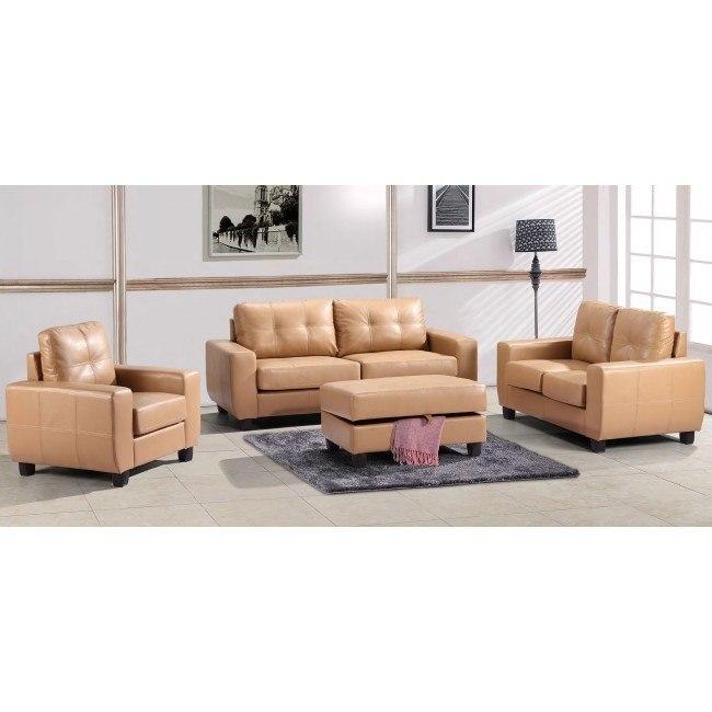 G201 Living Room Set (Tan)