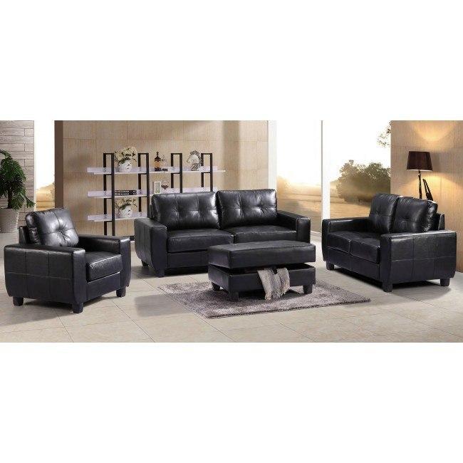 G203 Living Room Set (Black)