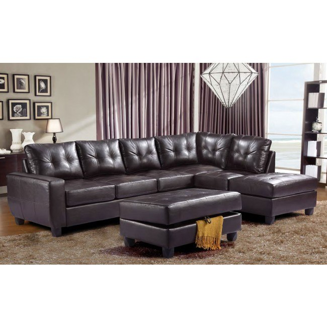 G205 Reversible Sectional Set (Cappuccino)