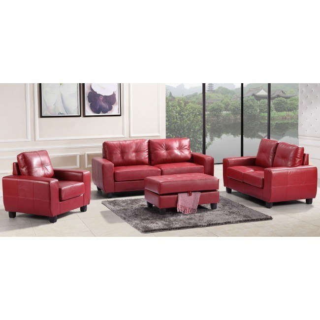 G209 Living Room Set (Red)