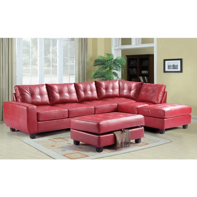 G209 Reversible Sectional Set (Red)