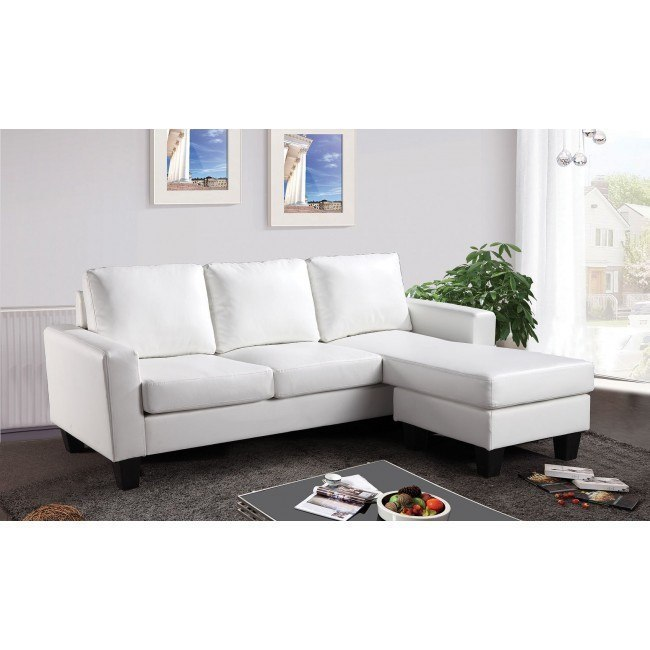 G217 Sofa Chaise (White)