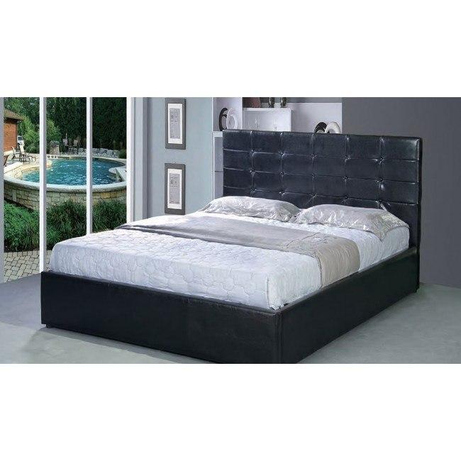 G2503 Upholstered Storage Bed (Black)