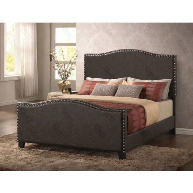 G2570 Upholstered Bed (Cappuccino)