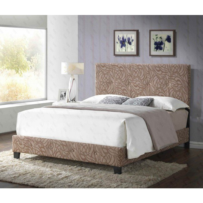 G2593 Upholstered Bed