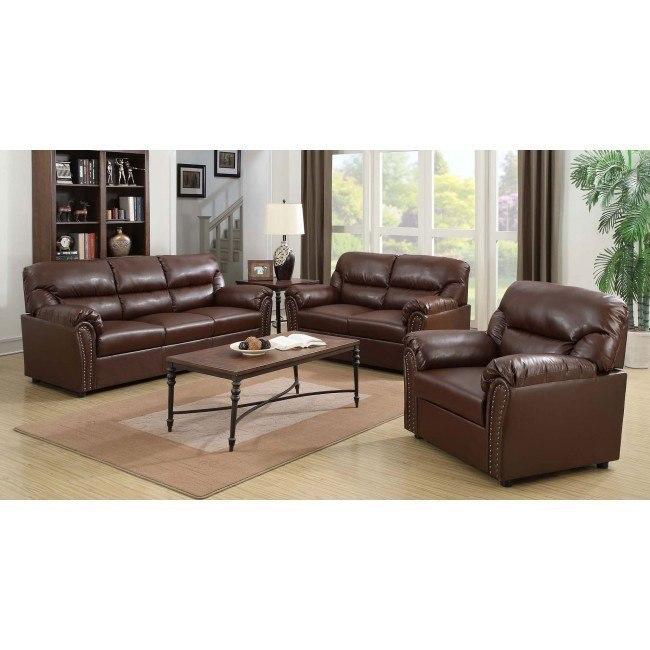 G260 Living Room Set (Brown)