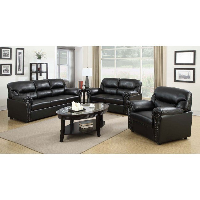 G263 Living Room Set (Black)