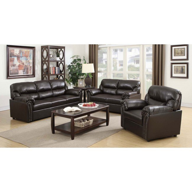 G265 Living Room Set (Chocolate)