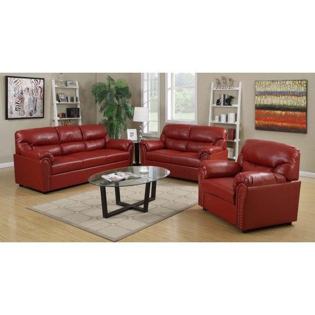 G269 Living Room Set (Red)