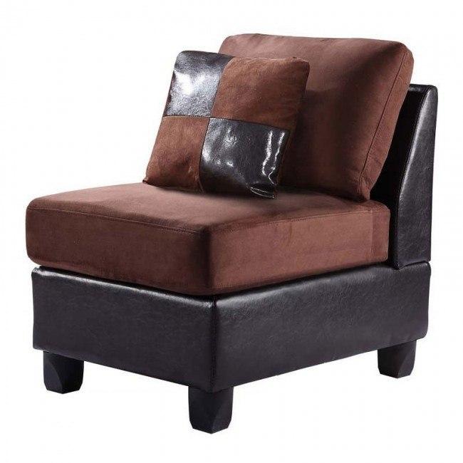 G290 Armless Chair (Mocha)