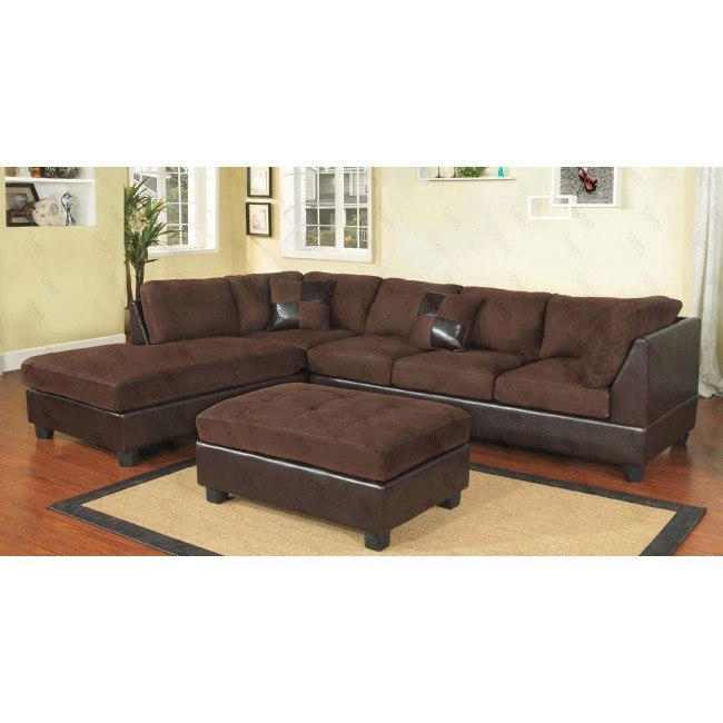 G290 Reversible Sectional Set (Mocha)