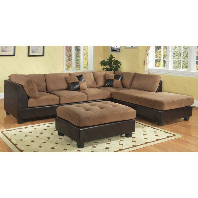 G295 Reversible Sectional Set (Chocolate)