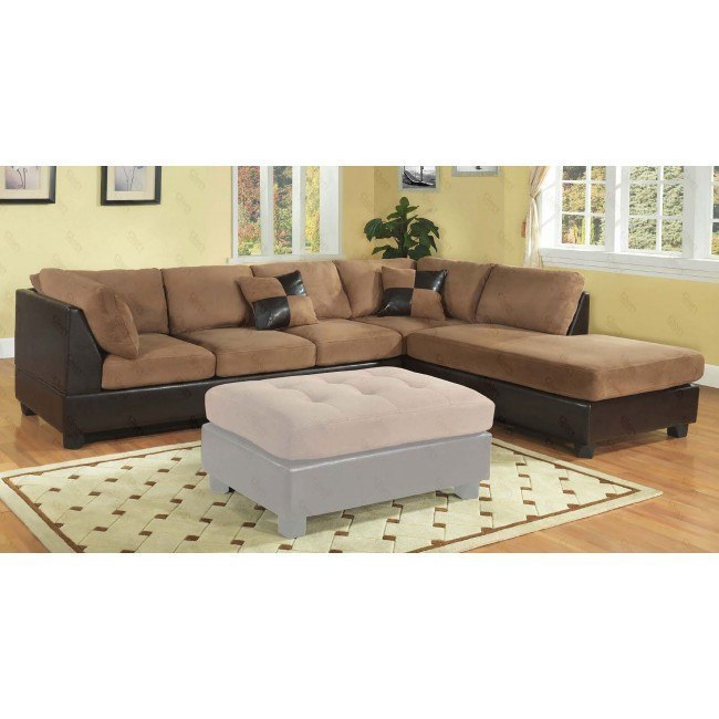 G295 Reversible Sectional (Chocolate)