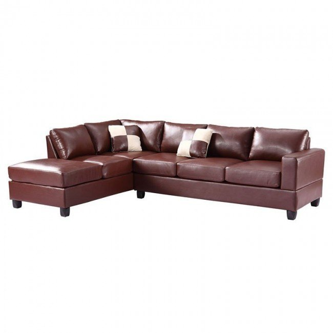 G300 Reversible Sectional (Brown)