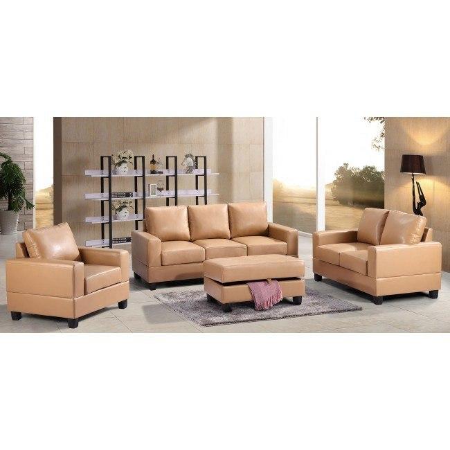 G301 Living Room Set (Tan)