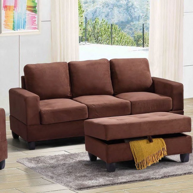 G302 Sofa (Chocolate)