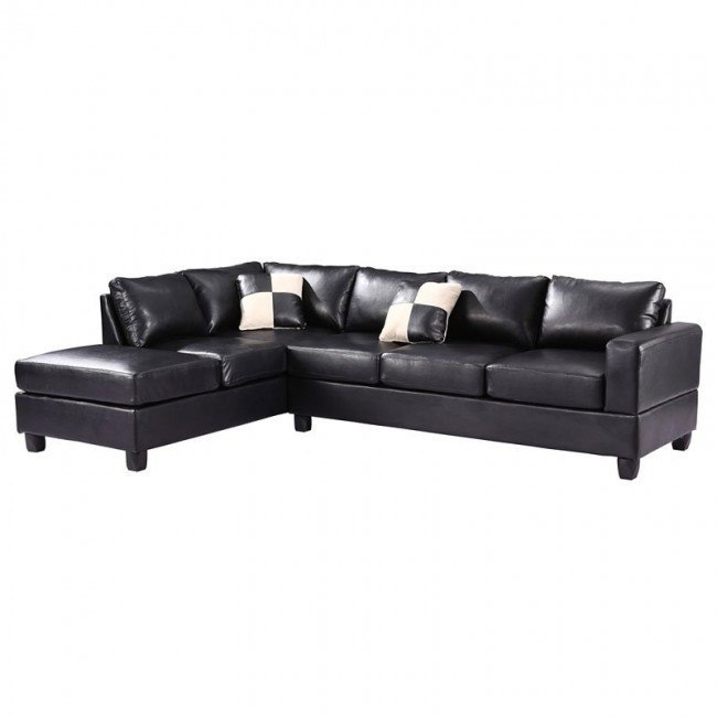 G303 Reversible Sectional (Black)
