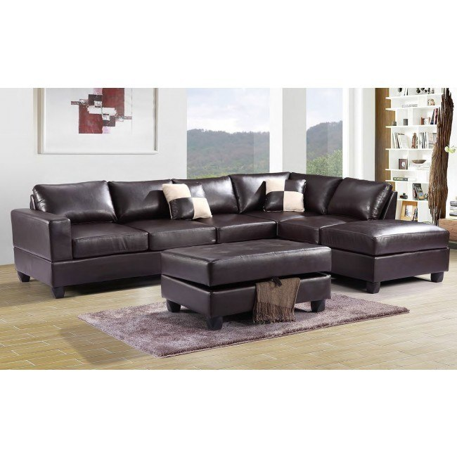 G305 Reversible Sectional Set (Cappuccino)
