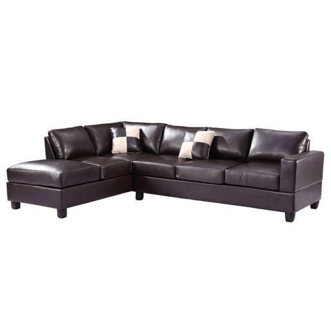 G305 Reversible Sectional (Cappuccino)