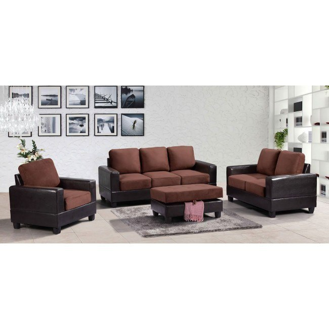 G306 Living Room Set (Chocolate)