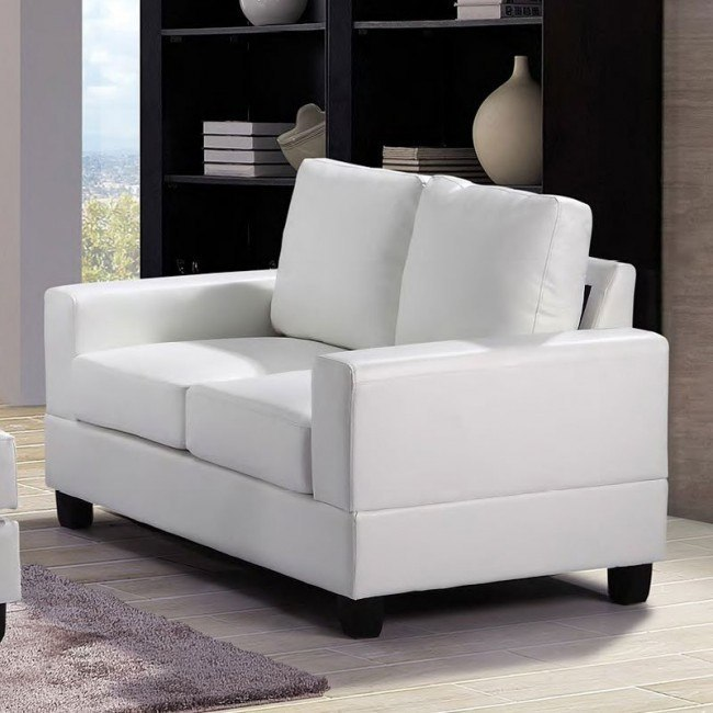G307 Loveseat (White)