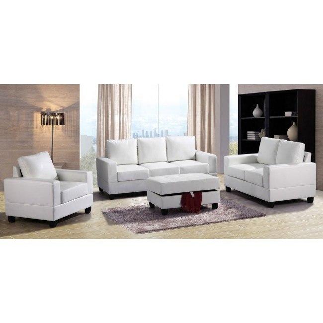 G307 Living Room Set (White)