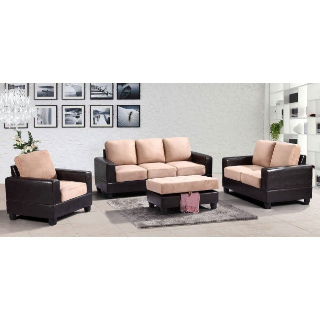G308 Living Room Set (Mocha)