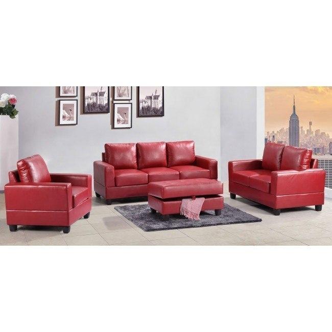 G309 Living Room Set (Red)