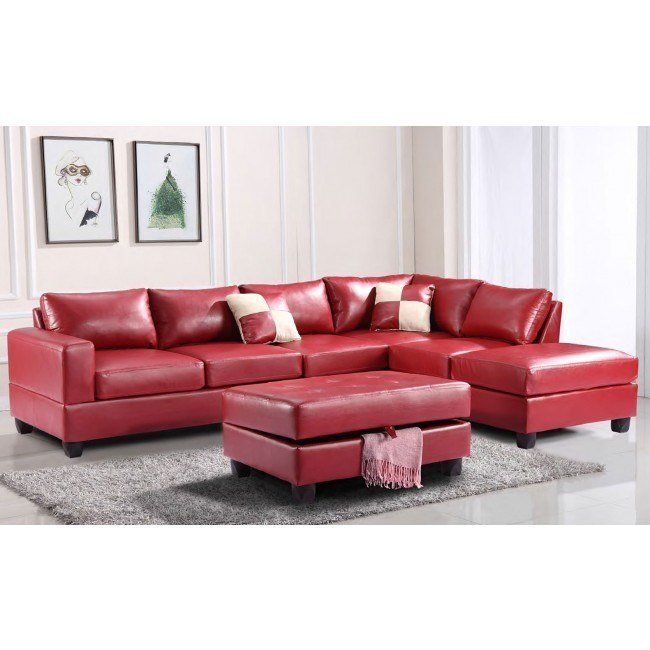 G309 Reversible Sectional Set (Red)