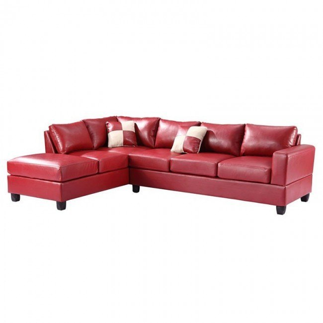 G309 Reversible Sectional (Red)