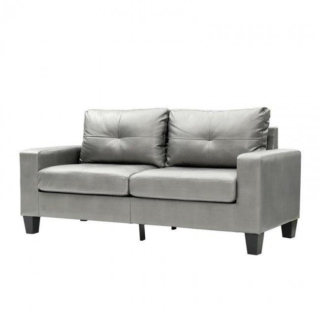 Newbury Modular Sofa Antiqued Silver