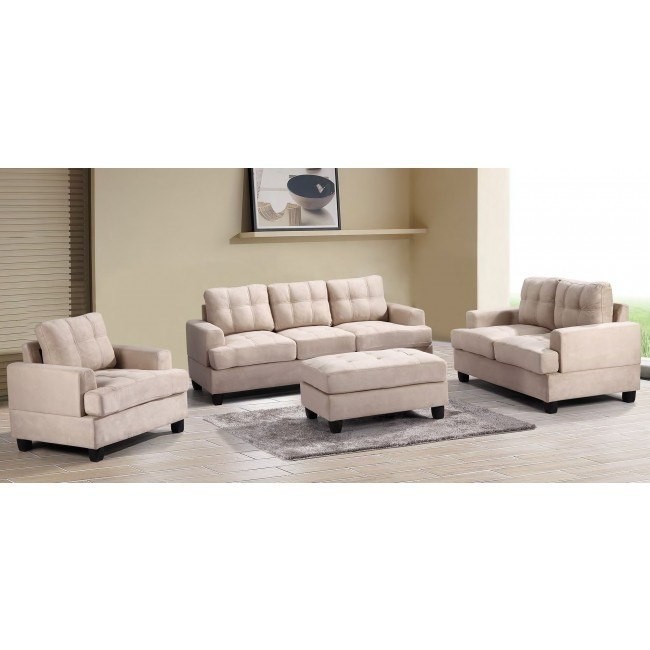 G511 Living Room Set (Beige)
