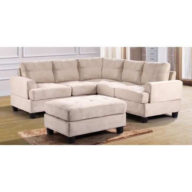 G511 Corner Sectional Set (Beige)