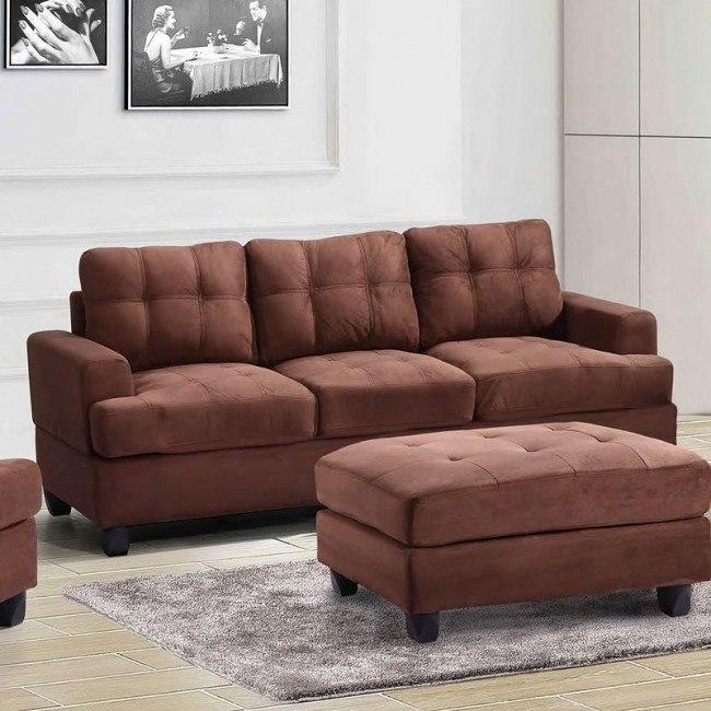 G512 Sofa (Chocolate)
