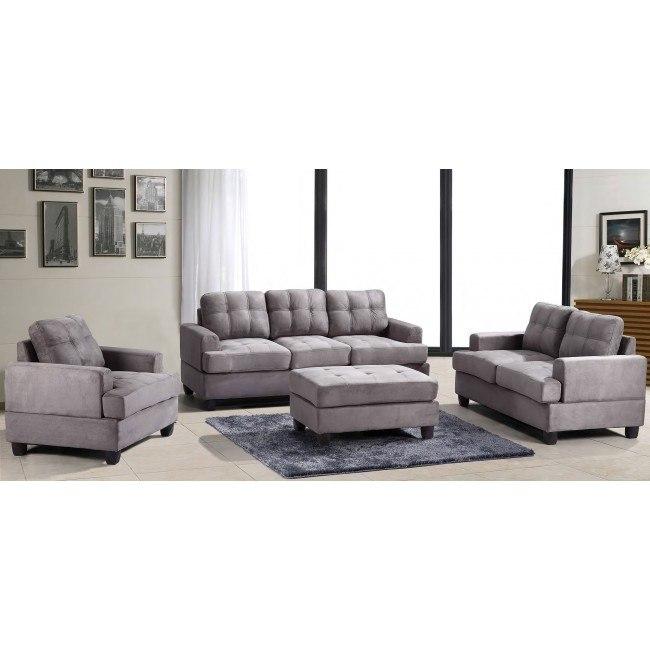 G513 Living Room Set (Grey)