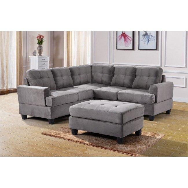 G513 Corner Sectional Set (Grey)