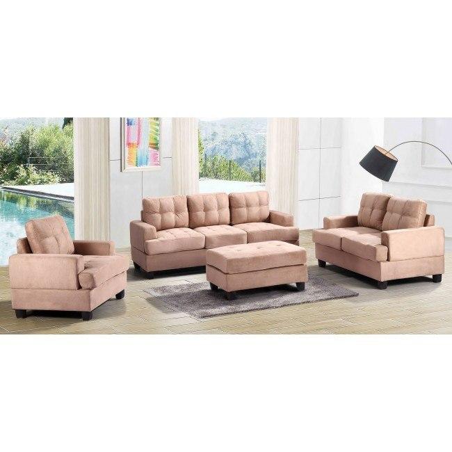 G514 Living Room Set (Mocha)