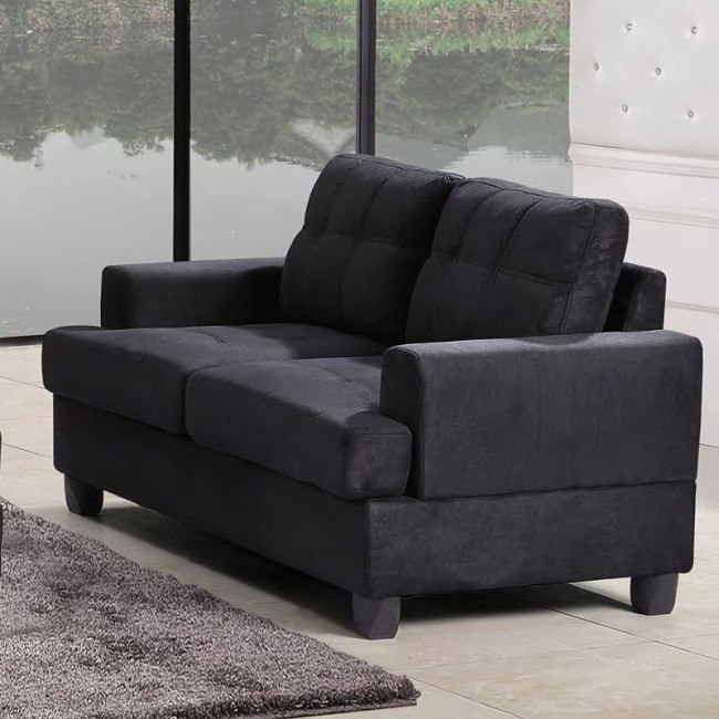 G515 Loveseat (Black)