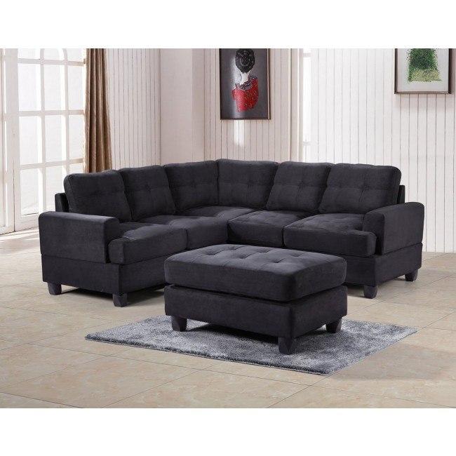 G515 Corner Sectional Set (Black)