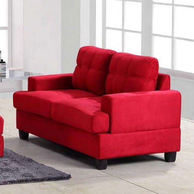 G516 Loveseat (Red)