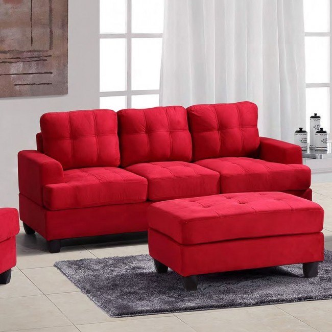 G516 Sofa (Red)