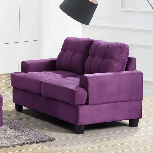 G517 Loveseat (Purple)